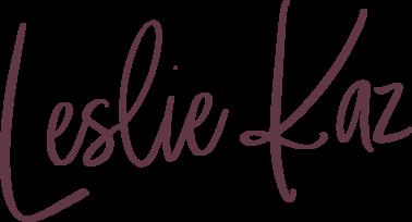 Leslie Kaz logo