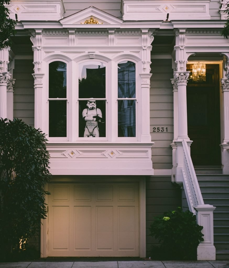 front-window-of-home-with-storm-trooper-guarding-it